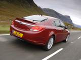 Vauxhall Insignia Hatchback 2008–13 wallpapers