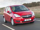Photos of Vauxhall Meriva Turbo 2014