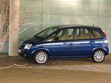 Vauxhall Meriva 2003–06 images