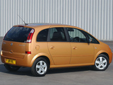 Vauxhall Meriva 2003–06 pictures