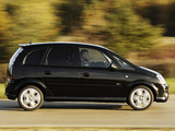Vauxhall Meriva Design 2006–10 images