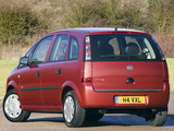 Vauxhall Meriva 2006–10 wallpapers