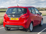 Vauxhall Meriva Turbo 2014 wallpapers