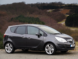 Vauxhall Meriva Turbo 2010–14 wallpapers