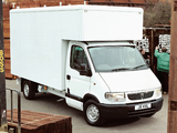 Vauxhall Movano Pickup 1998–2003 photos