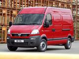 Vauxhall Movano LWB Van 2003–10 pictures