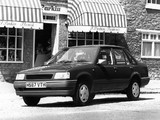 Photos of Vauxhall Nova Saloon Merit 4-door 1990–92