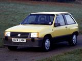Pictures of Vauxhall Nova SR 1983–88
