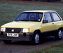 Pictures of Vauxhall Nova SR 1983–88