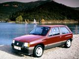 Vauxhall Nova SR 1983–88 images