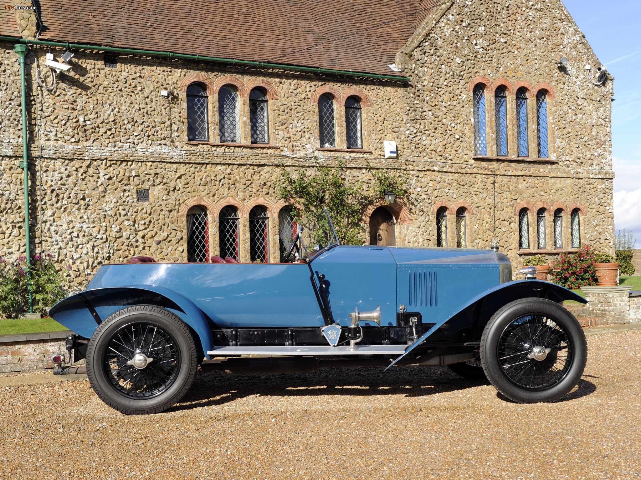 Images of Vauxhall OE-Type 30/98 Wensum Tourer 1925 (2048 x 1536)