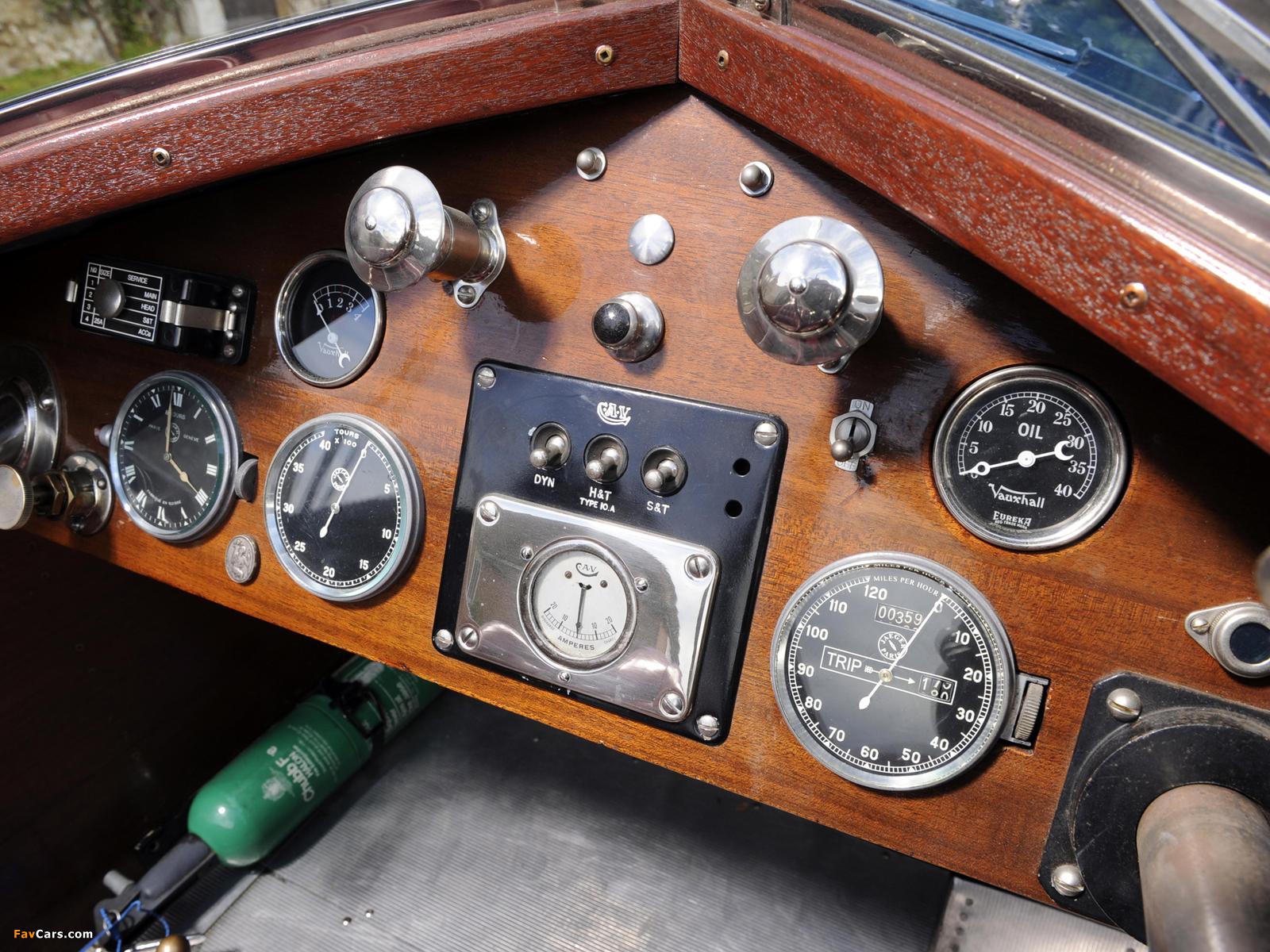 Vauxhall OE-Type 30/98 Wensum Tourer 1925 images (1600 x 1200)