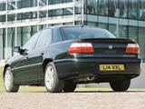 Photos of Vauxhall Omega Sedan (B) 1999–2003