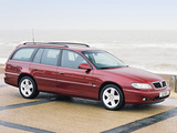 Vauxhall Omega Caravan (B) 1999–2003 images