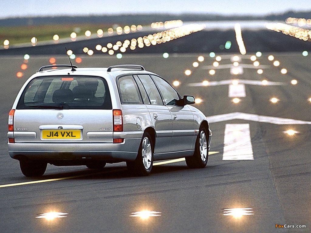 Vauxhall Omega Caravan (B) 1999–2003 pictures (1024 x 768)
