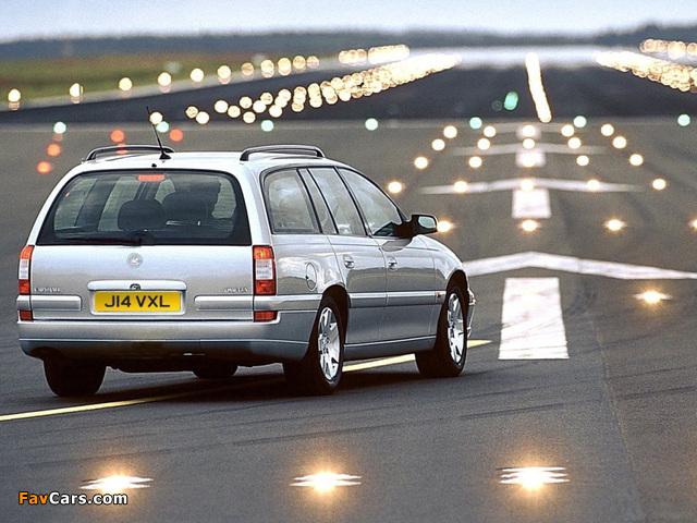 Vauxhall Omega Caravan (B) 1999–2003 pictures (640 x 480)