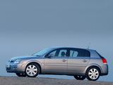 Vauxhall Signum 2003–05 photos