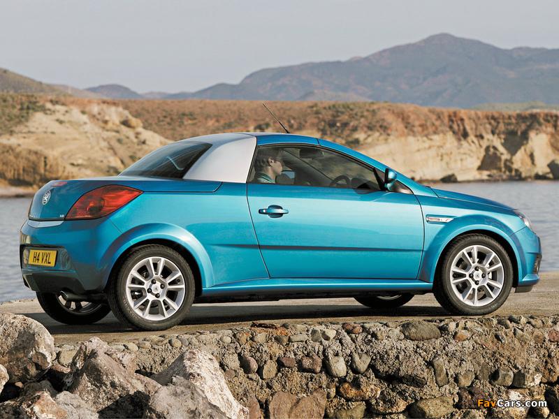 Images of Vauxhall Tigra TwinTop 2004–09 (800 x 600)