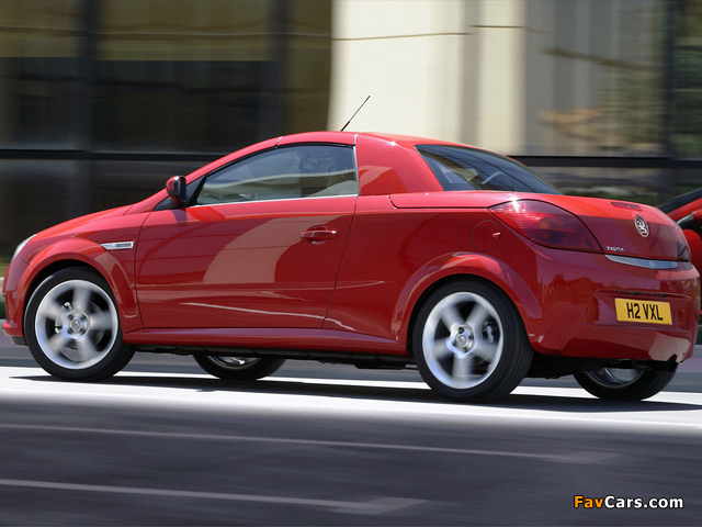 Vauxhall Tigra TwinTop 2004–09 images (640 x 480)