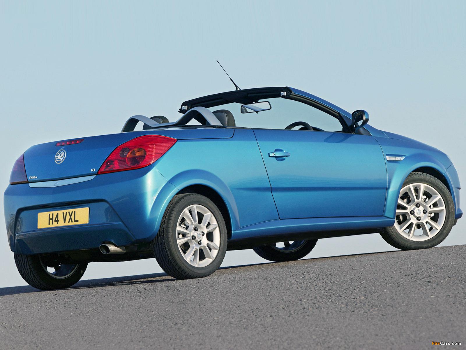 Vauxhall Tigra TwinTop 2004–09 pictures (1600 x 1200)