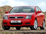 Vauxhall Vectra GTS (C) 2002–05 images