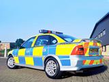 Vauxhall Vectra SRi 150 Sedan Police (B) images