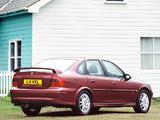 Vauxhall Vectra SRi 150 Sedan (B) photos