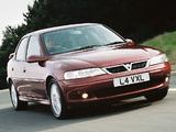 Vauxhall Vectra SRi 150 Sedan (B) pictures