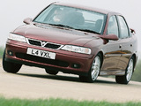 Vauxhall Vectra SRi 150 Sedan (B) wallpapers
