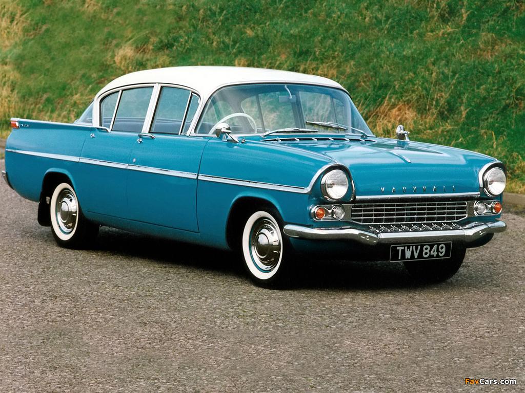 Vauxhall Velox 4-door Saloon (PA) 1957–62 wallpapers (1024 x 768)