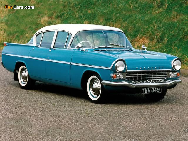 Vauxhall Velox 4-door Saloon (PA) 1957–62 wallpapers (640 x 480)