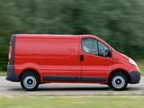 Photos of Vauxhall Vivaro Van 2006–14