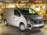 Pictures of Vauxhall Vivaro Van 2014