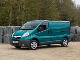 Vauxhall Vivaro Van ecoFLEX 2012–14 images