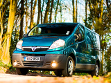Vauxhall Vivaro Van ecoFLEX 2012–14 wallpapers