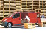Vauxhall Vivaro Van 2001–06 wallpapers