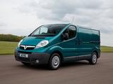 Vauxhall Vivaro Van ecoFLEX 2012–14 wallpapers