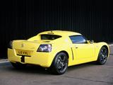 Vauxhall VX220 Lightning Yellow 2001–02 wallpapers