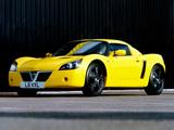 Vauxhall VX220 Lightning Yellow 2001 wallpapers