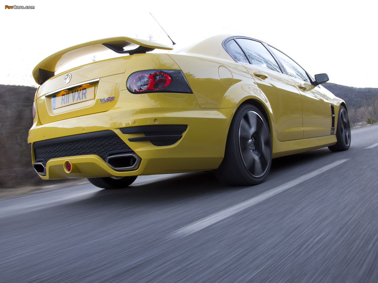 Pictures of Vauxhall VXR8 2011–13 (1280 x 960)