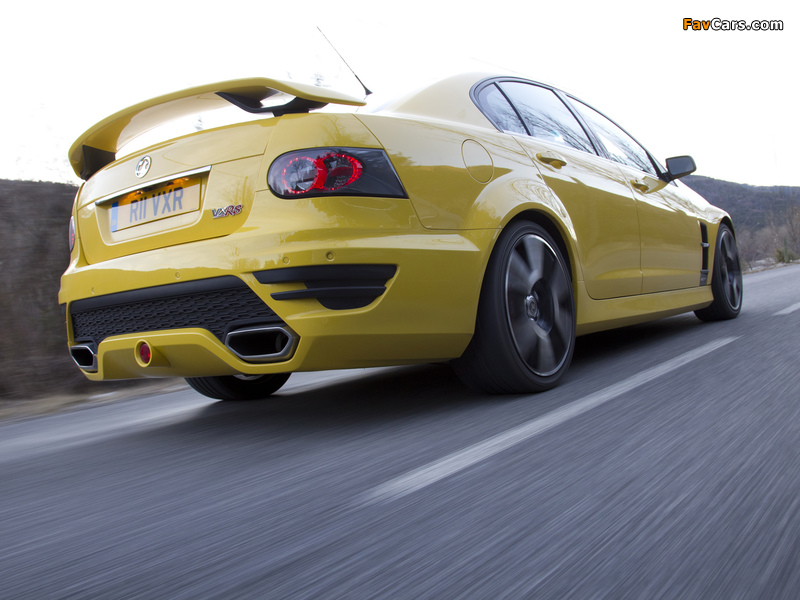 Pictures of Vauxhall VXR8 2011–13 (800 x 600)