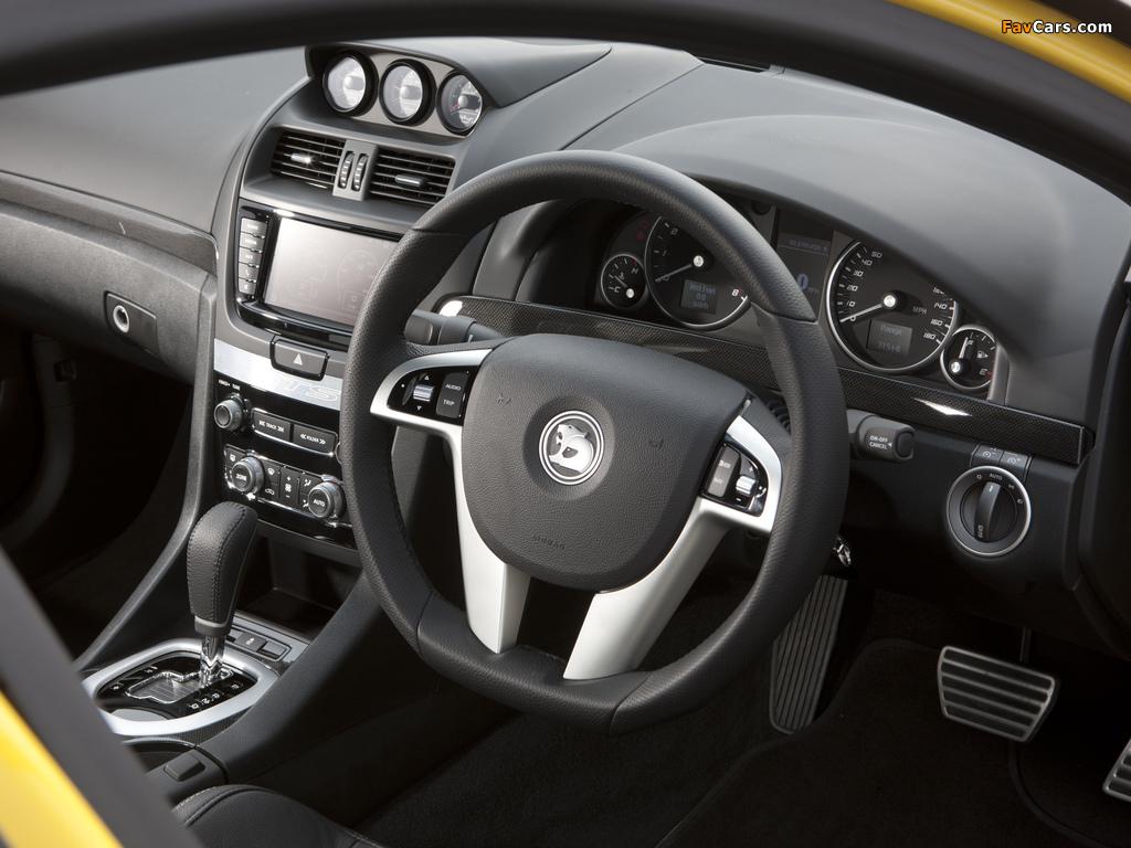 Vauxhall VXR8 2011–13 photos (1024 x 768)