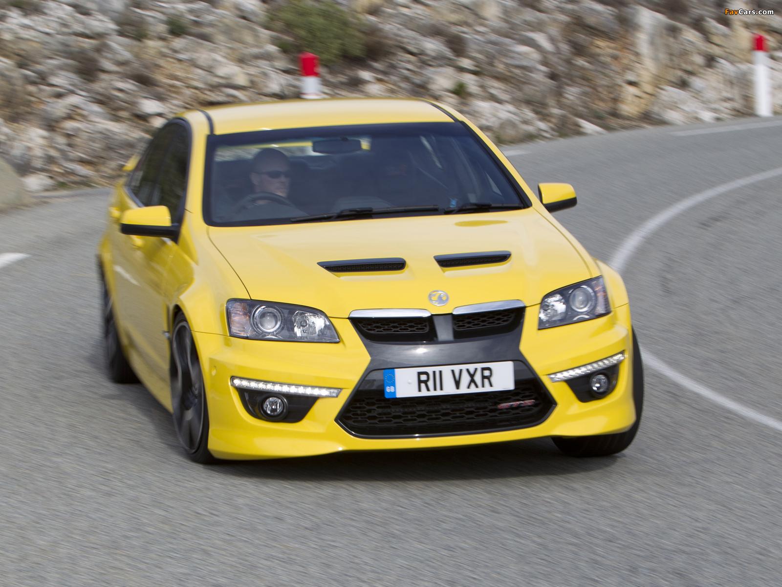 Vauxhall VXR8 2011–13 pictures (1600 x 1200)