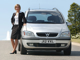 Images of Vauxhall Zafira 1999–2005