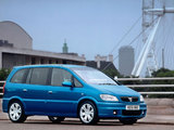 Images of Vauxhall Zafira GSi 2001–05