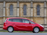 Images of Vauxhall Zafira Tourer ecoFLEX 2011
