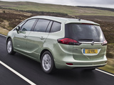 Images of Vauxhall Zafira Tourer 2011