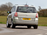 Photos of Vauxhall Zafira 2005–08