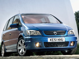 Pictures of Vauxhall Zafira GSi 2001–05