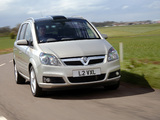 Pictures of Vauxhall Zafira 2005–08
